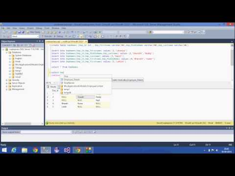 7.SQL Server Tutorial-Hindi(Coalesce function)