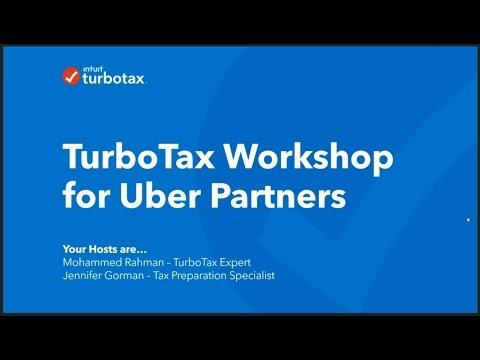 Uber Driver Turbo Tax Webinar