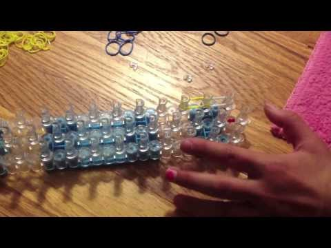 How to Make Arms/Legs on Rainbow Loom (Minion from