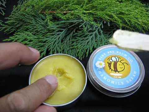 DIY Organic Baby Balm CONSISTENCY and CRYSTALLIZATION