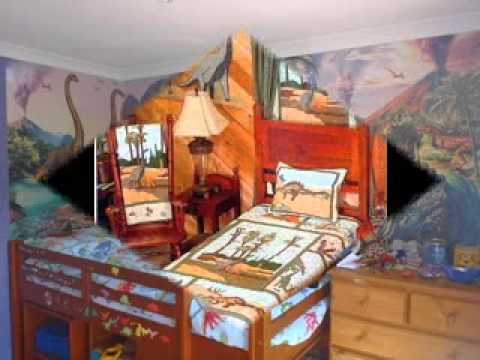 Creative Dinosaur bedroom decorations