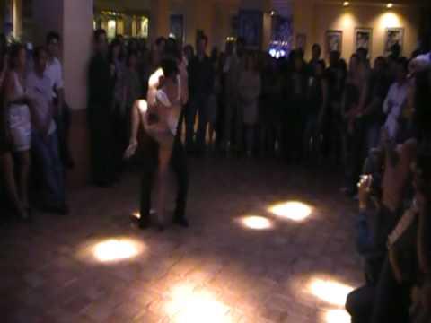 www.QueRicoDance.com Jorge Contreras & Serena Cuevas 1st dance together