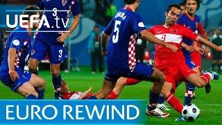 EURO 2008 highlights: Turkey beat Croatia on penalties