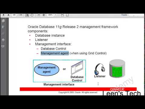 Oracle DBA 11g Tutorial in Bangla: Lesson#4 Part#1 Managing the Database Instance