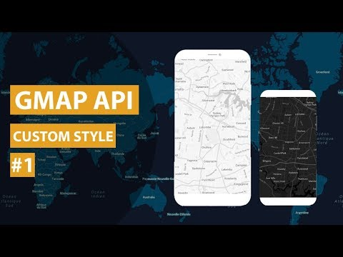 Google Map API : Custom Map Style Android Studio Tutorial