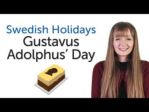 Swedish Holidays - Gustavus Adolphus' Day - Gustav Adolfdagen