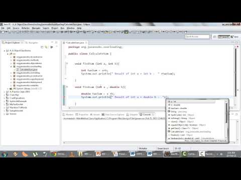 Object Oriented Programming - Q 05) Over Loading