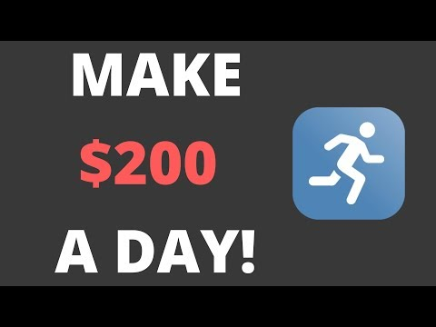 HOW TO MAKE $200 A DAY BY EXERCISING!