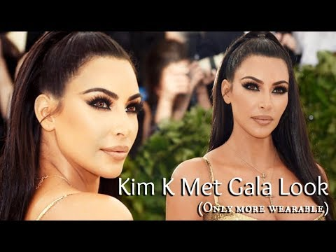 Deep Smokey Eye Makeup |  Kim Kardashian West Met Gala Makeup 2018 | TheMakeupChair