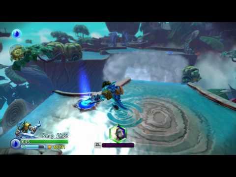 Skylanders Trap Team Wii U - Soda Springs (Soul Gems for Blades and Spot Light)