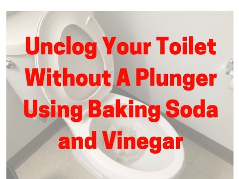Unclog Your Toilet Without a Plunger Using Baking Soda and Vinegar