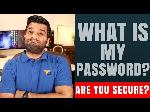 What is My Password?