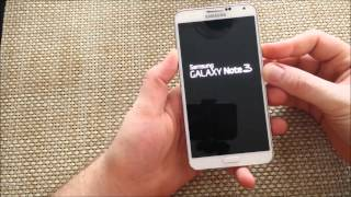Samsung Galaxy Note 3 How To Enter Exit Safe Mode Safemode For Troubl
