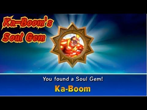 Skylanders Trap Team - Ka-Boom's Soul Gem - Missle Rain Upgrade