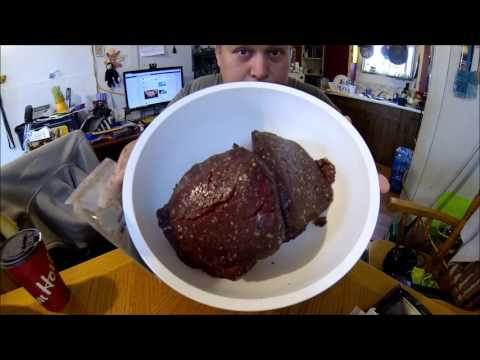 How to make Moose Jerky wit NDN JOE