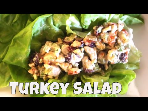 Low Carb Turkey Salad Lettuce Wraps With Linda's Pantry