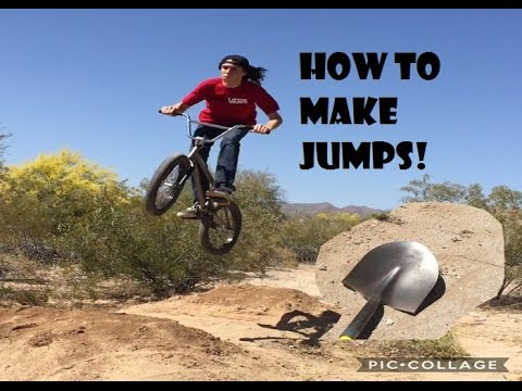 How to build bmx jumps