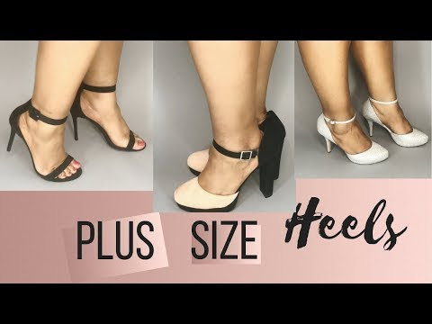 Plus Size Heels | Where to Buy Wide Width Heels