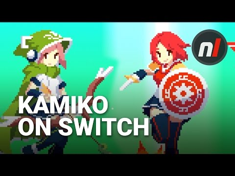 Super Cheap Japan-Exclusive on Switch | Kamiko Nintendo Switch Gameplay Footage