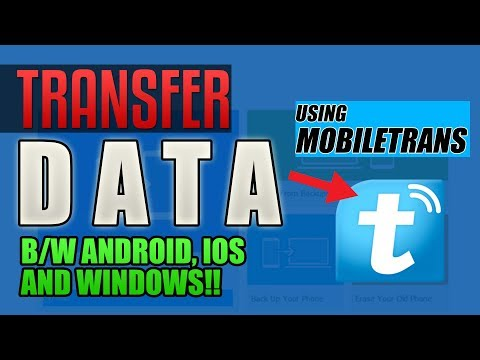 Transfer data from Android to iPhone / Android | Transfer Data b/w iOS, Android & Windows