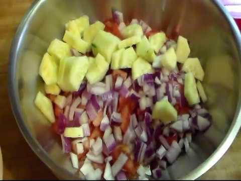 Tomato, Onion and Cucumber Salad
