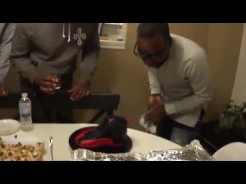 Jason's Jordan Shoe Cake!! - January 10/11, 2015 - LifeofAJay