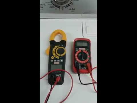 Checking dryer plugs voltage w/multimeter