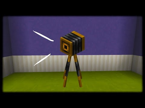Minecraft PE | How to Make a Working Camera (No Mods Or Addons)