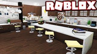 Modern Kitchen Re Design Bloxburg Adventures Roblox Bloxburg