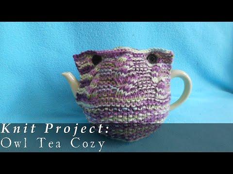 Owl Tea Cozy { Knit }