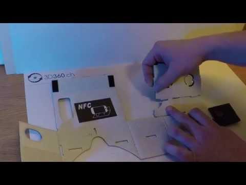 Zusammensetzen der DIY Google Cardboard