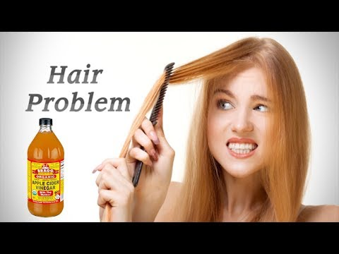 Shocking Side Effects Of Apple Cider Vinegar On Hair - You Must Know