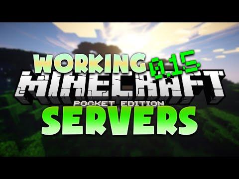 Minecraft PE 0.15.1 Multiplayer Servers - MCPE Working Server (Pocket Edition)