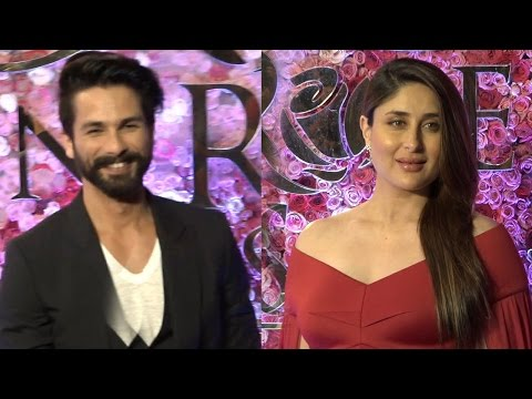 Pregnant Kareena Kapoor bumps into ex boyfriend Shahid Kapoor @ Award Function