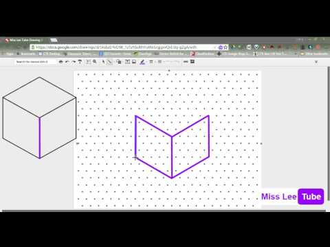 Miss Lee Tube: Drawing 3D Objects