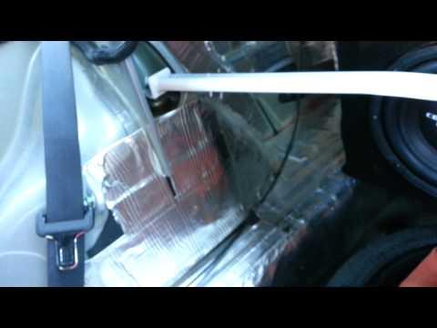 DIY: Rear Strut Brace Installation