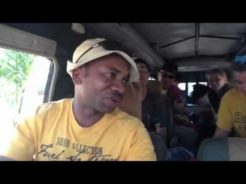 Kili 2012, Day 1 Sep. 23, 2012: Driving towards Kilimanjaro