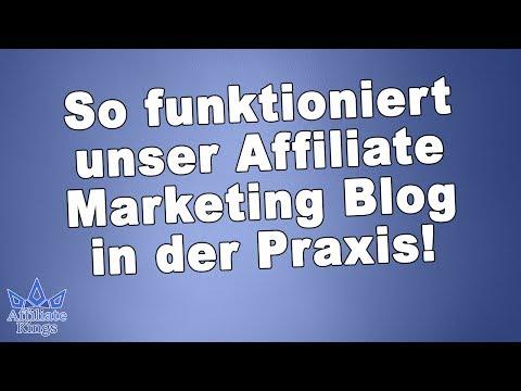 Wie baue ich einen Affiliate Marketing Blog   Unsere Vorführ-Blogs für Deine Praxis  AffiliateKings