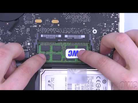 13-inch MacBook Late 2009 & 2010 Memory Installation Video