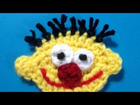 How To Crochet Sesame Street Ernie Applique - DIY Crafts Tutorial - Guidecentral