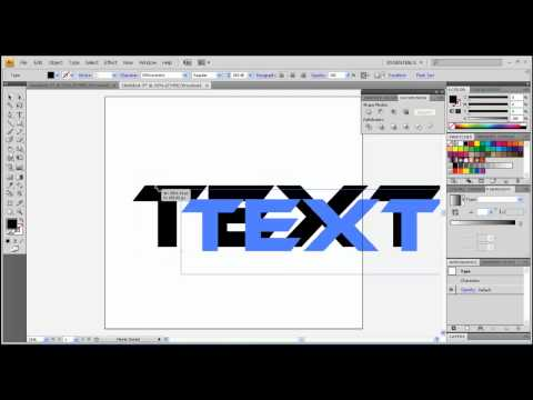 How to add gradient to text in Adobe illustrator