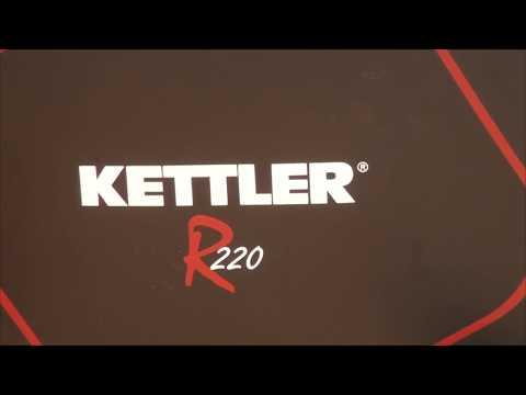 Kettler R220 Programmable Rower | Dazadi.com