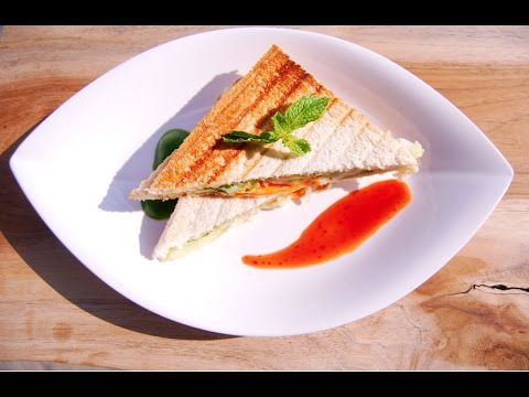 Grilled Veg Sandwich – in Tamil with English subtitle