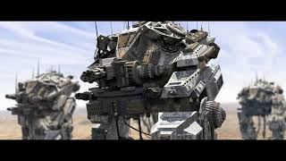 CGI Modern Tanks of the World's Armies - Military Factory - Robot tank in Cinema 4D - C4D
