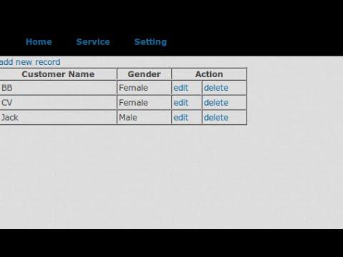 Selecte , Insert , Update , Delete data to mysql using Ruby on Rails part 1