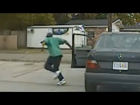 Dash cam shows moments before shooting of Walter Scott