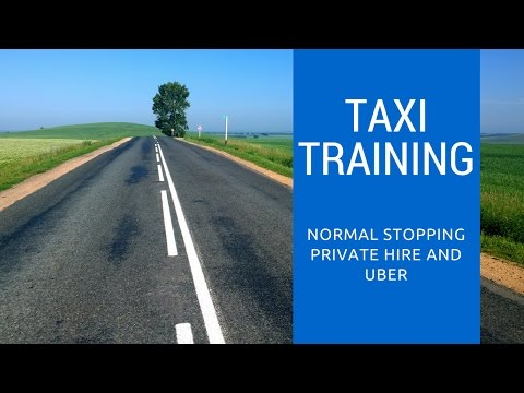 Taxi Training - Normal Stopping