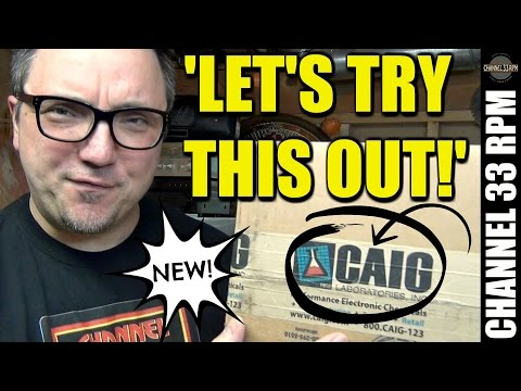 Testing a new vinyl RECORD CLEANING SOLUTION from Caig Labs (makers of Deoxit) & MORE!