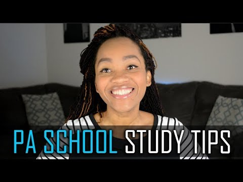 How To Study For PA School - (Tips on Remembering Alot of Information)