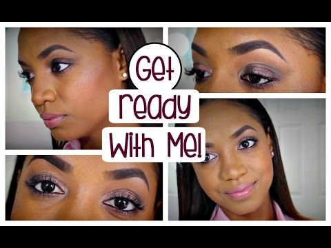 💕 Get Ready ♥ With Me | SIMPLE Bronze Smokey EYE LOOK 💕
